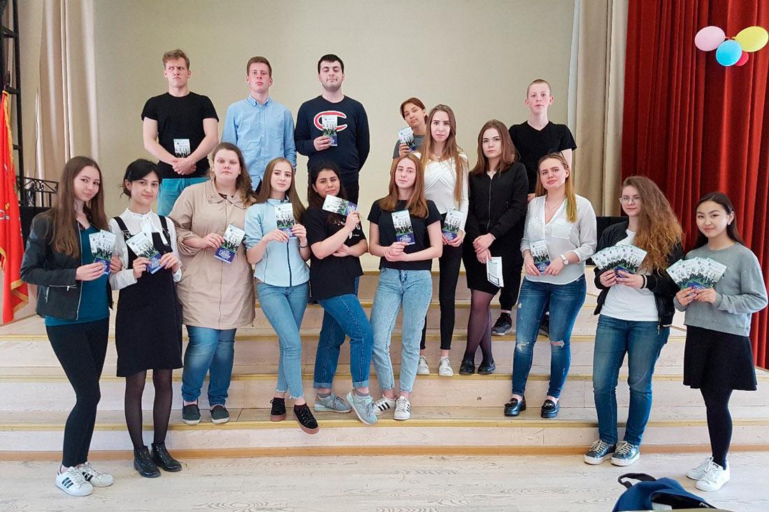 Студенты посетили школы Санкт - Петербурга и рассказали о преимуществах обучения в ВШГиФУ