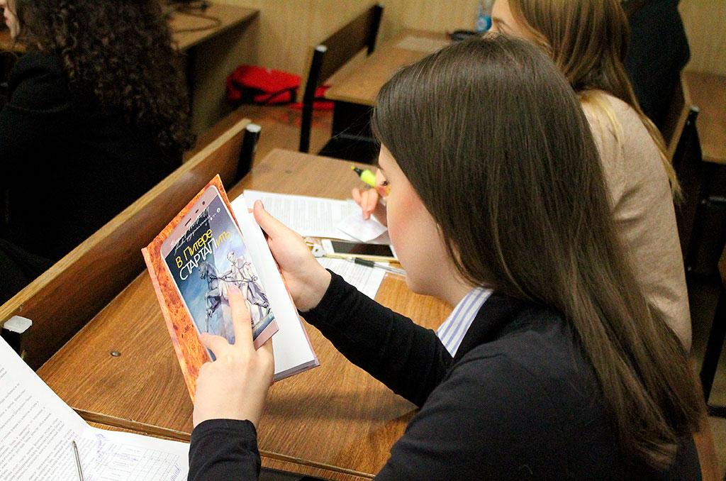 Таран В. В. - предприниматель и автор книги «В Питере СТАРТАПить» - рассказал студентам об особенностях ведения бизнеса в Петербурге
