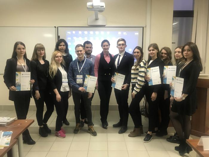 Студенты ВИЭШ приняли участие в форуме «Ломоносов-2019»