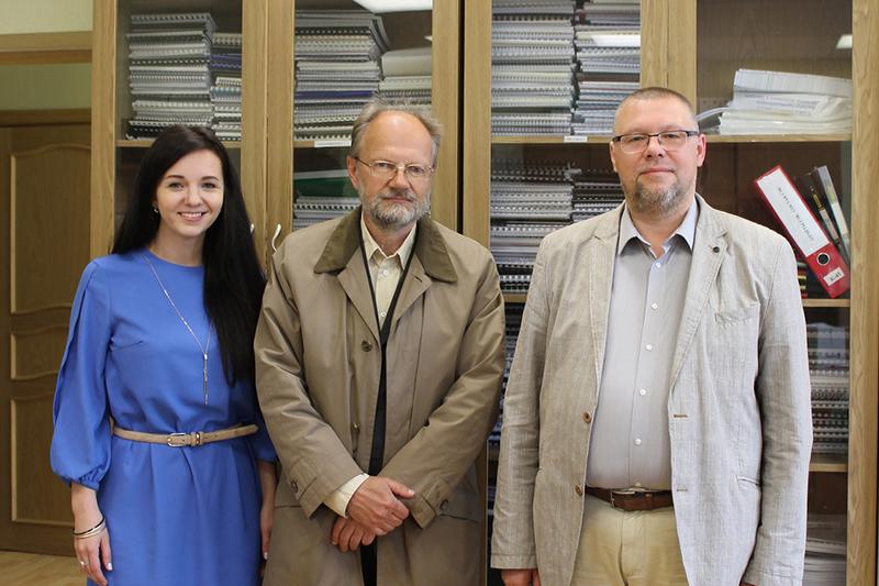 ВИЭШ посетил профессор, доктор наук старейшего вуза Эстонии Пеэтер Мююрсепп