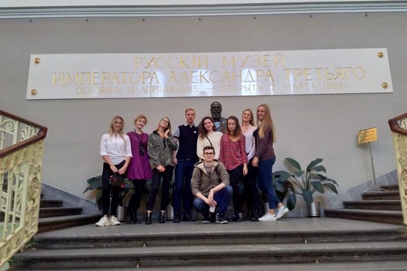 Студенты ВИЭШ знакомятся с лучшими практиками организации музейного дела в Санкт-Петербурге