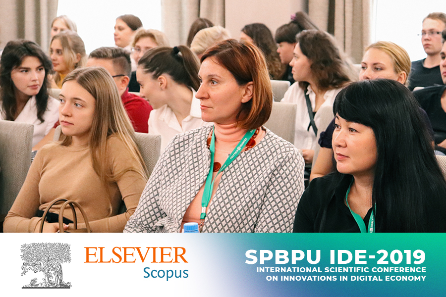Proceedings of SPBPU IDE-2019 have been indexed in SCOPUS